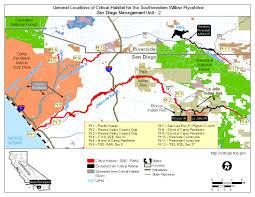 Map Of Camp Pendleton Southwest Region Arizona Es Field Office