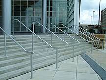 Handrailing Hand Rail Systems Indiana Gratings Inc