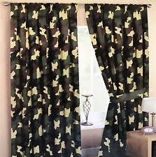 camouflage kids and teens window treatments ebay