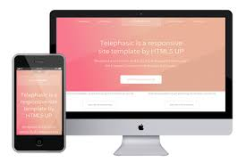 telephasic responsive html5 template html5xcss3