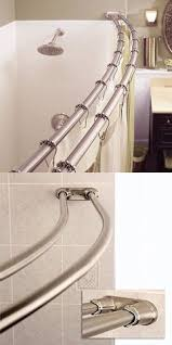 48 Curved Shower Curtain Rod Shower Curtain Rods 168132 Signature Hardware 48 Curved Shower