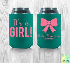 baby shower koozies a baby is brewing baby q koozies soon we ll by mintandlemon
