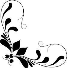 clipart decorative corner ornament line 2