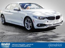bmw chapel hill 2018 bmw 4 series 430i for sale in chapel hill nc