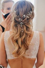 how to put bridal hairstyle best 25 bridal hair flowers ideas on pinterest bridal hair with