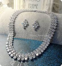 crystal wedding necklace images B charmed designs luxury swarovski crystal wedding necklace b jpg