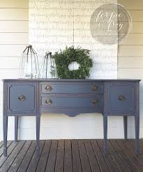 Painted Buffets And Sideboards by Buffet Painted By Amanda Of Ferpie And Fray In Queenstown Grey By