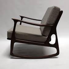 Modern Rocking Chair Upholstered Rocking Chair Upholstered Glider Oversize Rocking