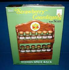 Vintage Wooden Spice Rack Vintage Spice Rack Ebay