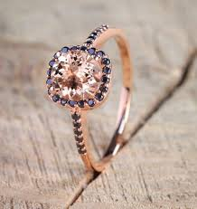 pink and black engagement rings limited time sale 1 50 carat pink morganite cut
