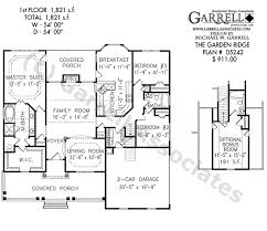 cape cod style floor plans garden ridge house plan house plans by garrell associates inc