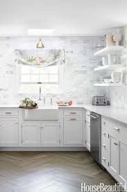 Lovely Fine Backsplashes For White Kitchens Best  Kitchen - Best kitchen backsplashes
