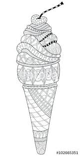 coloring pages ice cream cone ice cream coloring page drawn waffle cone colouring page 8 free ice