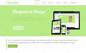 great responsive html5 business template selling for 6 00