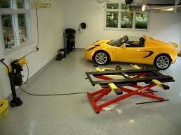 garage affordable car lift for garage design portable car lifts