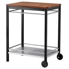 bekvam kitchen klasen serving cart outdoor stainless steel ikea