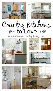 country kitchens to love town u0026 country living