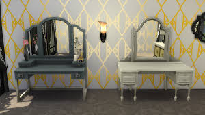 Vanity Table Chair The Sims 4 Vintage Glamour The Vanity Table Globe Bar Sims