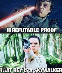 Luke Meme - need more proof about rey and luke dhtg