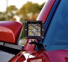2016 2017 toyota tacoma ditch light brackets cali raised led