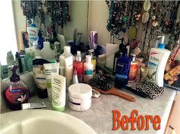 bathroom vanity organizers ideas bathroom vanity organizer do this not that vanity storage makeup