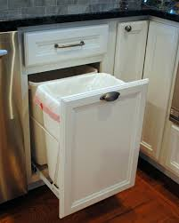 pull out trash can for 12 inch cabinet cabinet pull out trash can fresh martha stewart pull out trash can