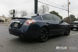 nissan altima black 2014 nissan altima with 20in lexani css15 wheels exclusively from