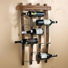 wine rack design ideas hanging 4 bottle wine rack from wine barrel