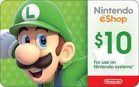 nintendo gift card nintendo eshop digital card