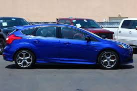 2014 ford focus st blue used 2014 ford focus st in fullerton