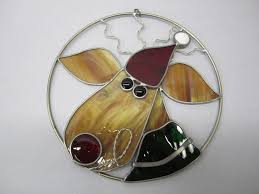 73 best stained glass christmas ornaments images on pinterest