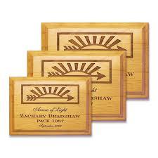 arrow of light award images arrow of light scouting plaque naag tag inc