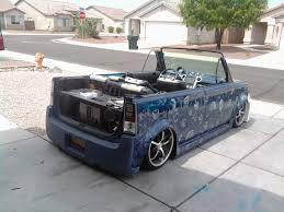 custom scion xb chopped removeable top w rwd v8 xb conversion