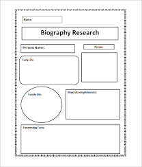 sample biography 6 example format