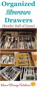 how to organise kitchen utensils drawer how to declutter organize silverware drawer
