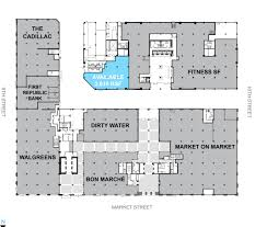 Public Floor Plans by Market Square Uli Case Studies