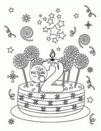 number 6 and birthday balloons coloring page for kids holiday