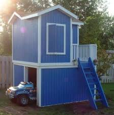 Backyard Clubhouse Plans by 273 Best Playhouses Some Could Be Tiny Homes Images On Pinterest