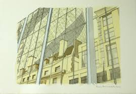 100 top architects sketch city for charity news architects journal