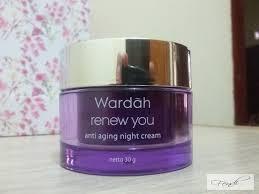 Wardah Krim Malam Dan Siang skincare routine review wardah renew you for my dehydrated yet
