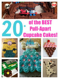 The BEST Cupcake Cake Ideas Kitchen Fun With My  Sons - Pull apart cupcake designs