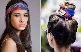 how to wear a bandana with short hair how to wear a bandana in 4 different styles