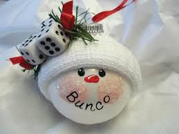 get the new bunco snowball ornament out of stock