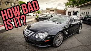here u0027s everything wrong with my 8 900 mercedes benz sl55 amg