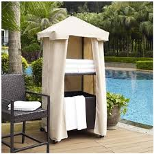 poolside towel storage outdoor tower swimming pool furniture resin