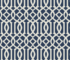 Moroccan Trellis Fabric Imperial Trellis Navy Large Fabric Mrsmberry Spoonflower
