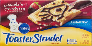 Toaster Strudel Ad Pillsbury Toaster Strudel Pastries Limited Edition Chocolate