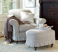 Slipcover For Oversized Chair And Ottoman by Best 25 Ticking Fabric Ideas On Pinterest Ticking Stripe