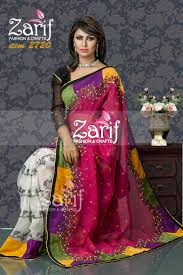 bangladeshi fashion house online shopping zarif fashion and crafts eid fashion 2015 jamdani saree