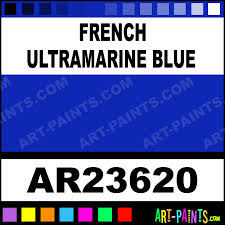 french ultramarine blue archival oil paints ar23620 french